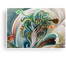 River Bloom Canvas Print