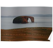 Evening light on Dore Holm Poster
