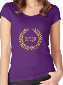 Camp Jupiter Women's Fitted Scoop T-Shirt