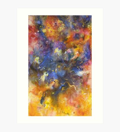 Cosmic Expansion Art Print