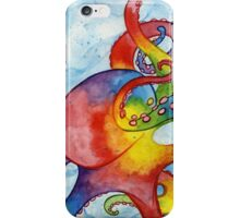 Rainbow Octopus iPhone Case/Skin