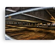 The Parking Deck Canvas Print