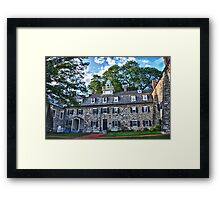 The Quadrangle Framed Print