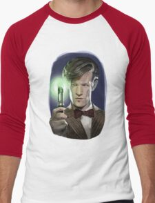 The Eleventh Doctor Men's Baseball ¾ T-Shirt