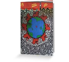 Red Lion World Greeting Card