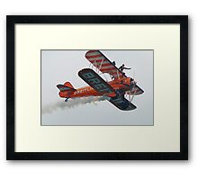 Breitling Wing Walkers, Airbourne Framed Print