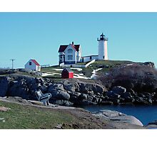 "The Cape Neddick ""Nubble"" Lighthouse Photographic Print"