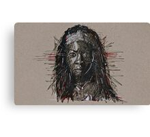 The Walking Dead Michonne Canvas Print