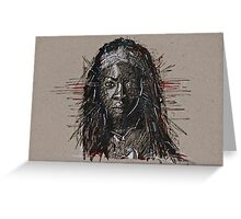 The Walking Dead Michonne Greeting Card
