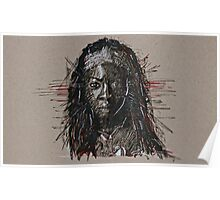 The Walking Dead Michonne Poster