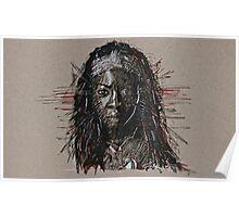 The Walking Dead Michonne Poster