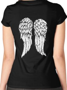 Daryl Dixon Wings Women's Fitted Scoop T-Shirt