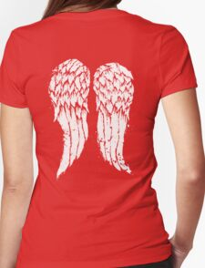 Daryl Dixon Wings Womens Fitted T-Shirt