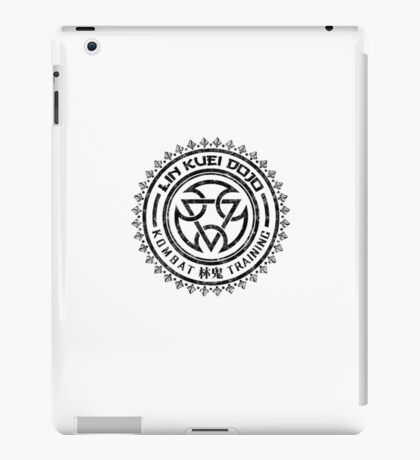 Mortal Kombat - Lin Kuei Dojo - Black Dirty iPad Case/Skin
