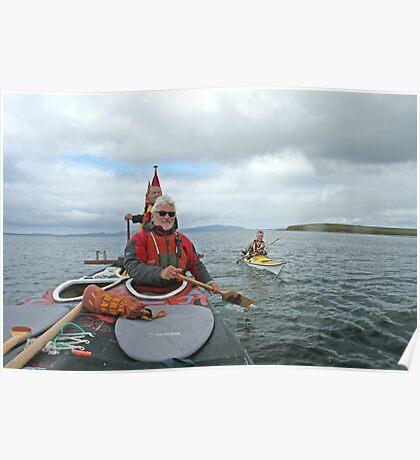 Kayak escort Poster
