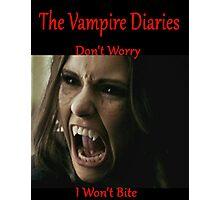 The Vampire Diaries - Elena - Katherine - (Designs4You) Photographic Print