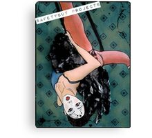 Circus Girl Canvas Print