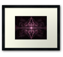 Pink Chambers Framed Print