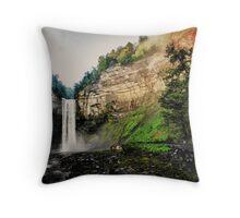 Finger Lakes Region of NY Throw Pillow