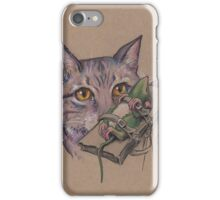 Doctor Frankenkitty in the Lab iPhone Case/Skin