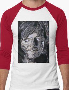Daryl Dixon The Walking Dead Men's Baseball ¾ T-Shirt