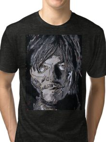 Daryl Dixon The Walking Dead Tri-blend T-Shirt