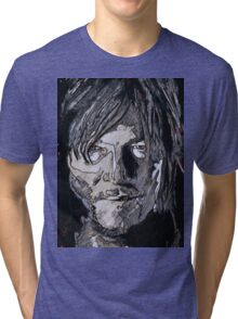 Daryl Dixon The Walking Dead Tri-blend T-Shirt