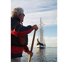 Sailing Tall Photographic Print