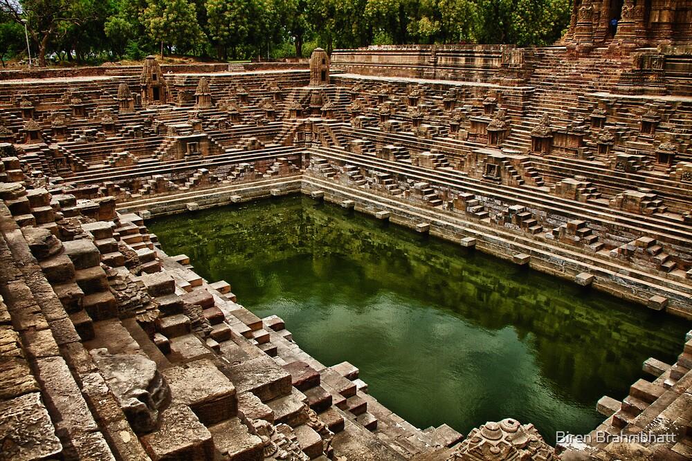 Sacred Reservoir by Biren Brahmbhatt