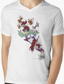 from thought to ink Mens V-Neck T-Shirt
