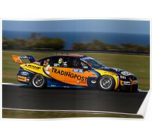 W.Davison/Youlden Trading Post Car, Phillip Island 2011 Poster