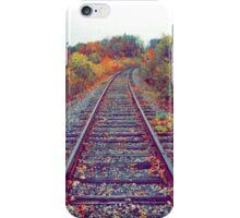 Autumn Railroad iPhone Case/Skin