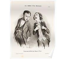 Houghton 44W 2685 Les bonnes têtes musicales 9 Poster