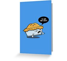 Not That Easy Greeting Card