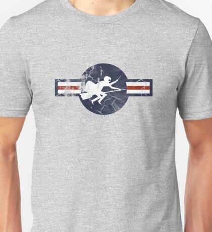 Ministry of Magic Air Force Insignia US distressed Unisex T-Shirt