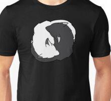 Yin-Yang Foxes Unisex T-Shirt