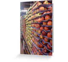 Apple Wall Greeting Card