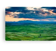Palouse Storm Canvas Print