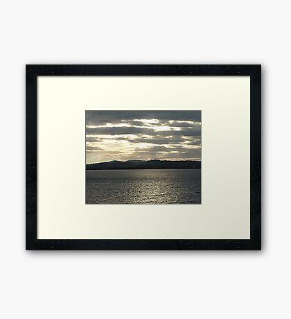 A Grey Day Framed Print