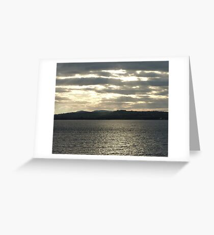 A Grey Day Greeting Card