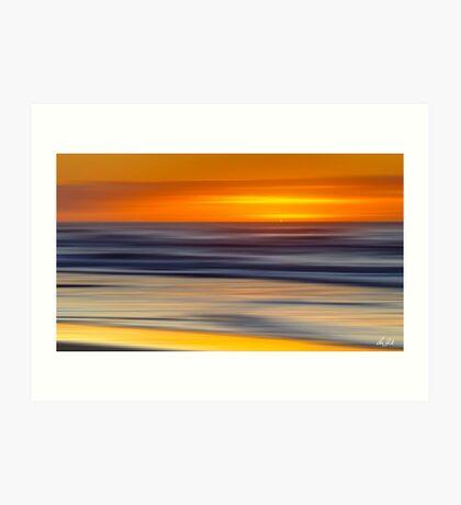Over the Horizon Art Print