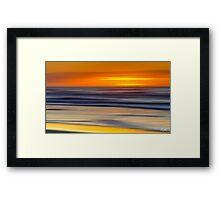 Over the Horizon Framed Print