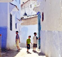 Chefchaouen boys by agawasa
