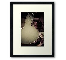 Babyccino Framed Print