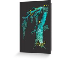 Tree Birds Greeting Card