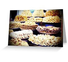 in the cookie mountains... Greeting Card