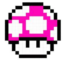 Super Mario Mushroom Sticker