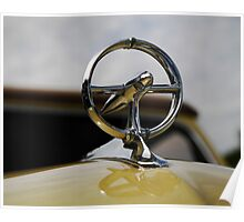 1948 Buick hood ornament Poster