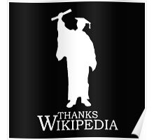 Thanks Wikipedia Poster