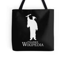 Thanks Wikipedia Tote Bag
